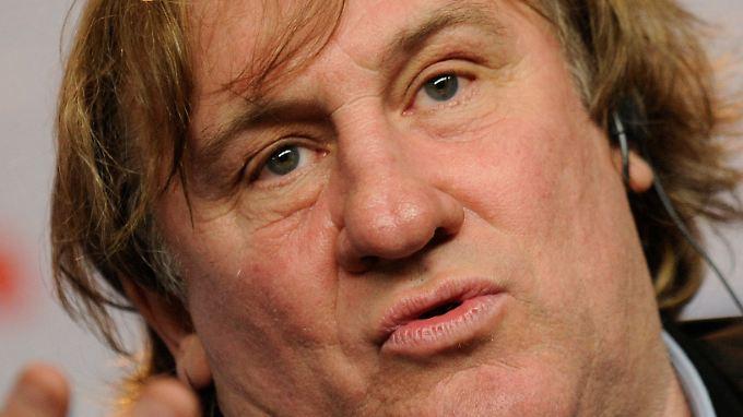 Gerard Depardieu ist ein eigenwilliger Dickkopf.