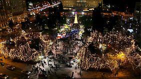 """Griechische Weihnachten: """"Die Zeiten sind sehr schlecht"""""""