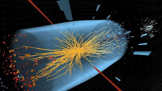 """""""Das Higgs"""" oder mehrere Higgse? Cern-Physiker suchen weiter."""