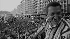 Über allem stehen Vaterland, Gerechtigkeit - und natürlich Hugo Chávez selbst. Und der aufstrebende Politiker kann überzeugen.