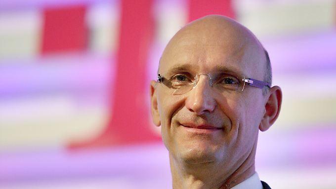 Thimoteus Höttges folgt auf René Obermann an der Spitze der Deutschen Telekom.