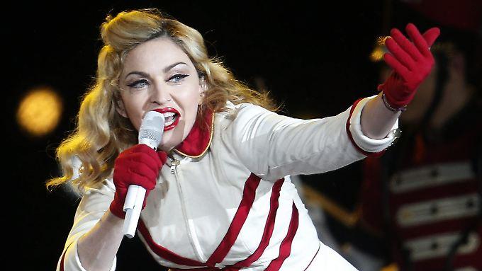 Am Ende fand das Konzert statt: Madonna in Santiago.