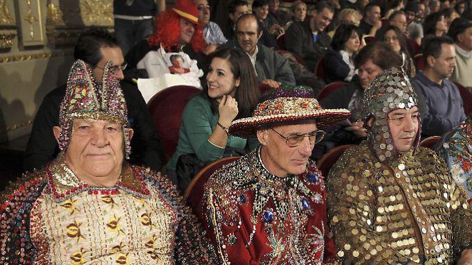 Die Lose wurden im königlichen Theater von Madrid gezogen - vor illustrem Publikum.