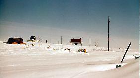 Die Byrd-Station sammelt seit 1957 Daten über Temperaturverschiebungen in der Westantarktis.