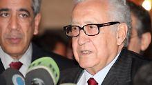 Letzte Chance für Syrien: Brahimi versucht es noch einmal