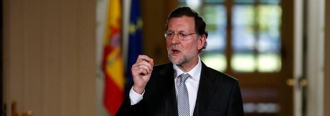 Für Blut, Schweiß und Tränen bleibt Mariano Rajoy zu ungerührt.