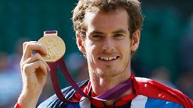 Andy Murray gewann das olympische Tennisturnier.