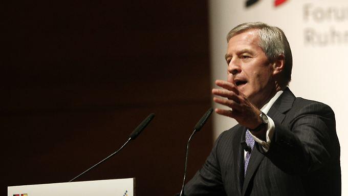 Fürchtet sich vor Konkurrenz aus dem Internet und den Schwellenländern: Deutsche-Bank-Co-Chef Jürgen Fitschen.