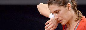 Tränen prägten das Jahr von Andrea Petkovic, nicht nur in Stuttgart.