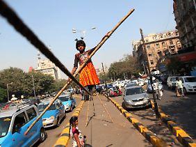 Mädchen sind in Indien nicht willkommen.