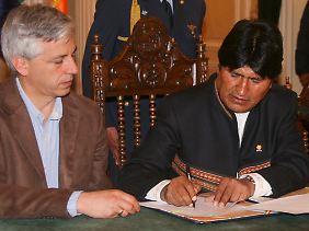 Übernahme á la Evo Morales: Per Dekret wird Iberdrola enteignet.