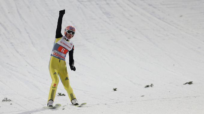 Bester Deutscher, Drittbester in Oberstdorf: Severin Freund.