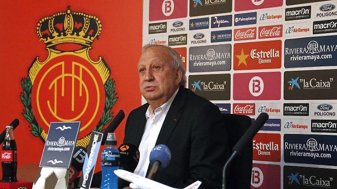 Jaume Cladera, Ex-Präsident von RCD Mallorca.