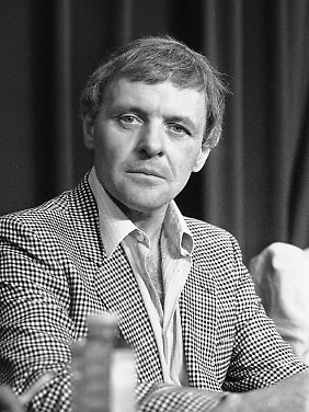 Anthony Hopkins 1984 beim Internationalen Filmfestival in Cannes.