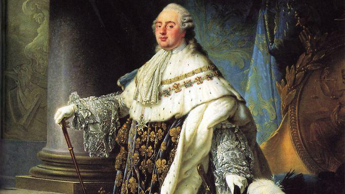 König Ludwig XVI auf einem Gemälde von Antoine Callet aus dem Jahr 1788.