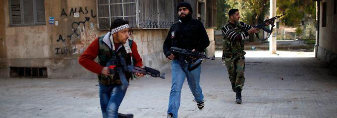 In Aleppo toben seit Monaten blutige Gefechte.