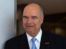 Präsident des Zentralverbands des Deutschen Handwerks: Otto Kenzler.