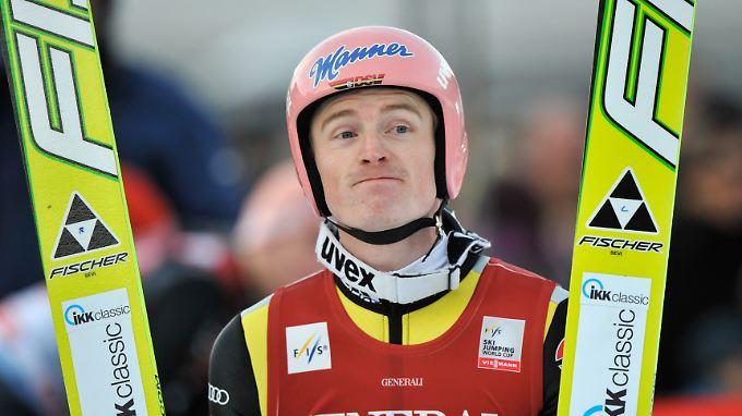 Severin Freund und die Olympiaschanze in Garmisch-Partenkirchen - es bleibt ein Trauerspiel.