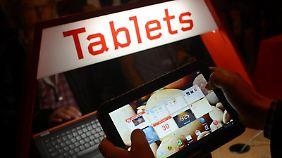 Von Zocken bis zum Zeitung lesen - Tablets lassen sich vielseitig einsetzen.