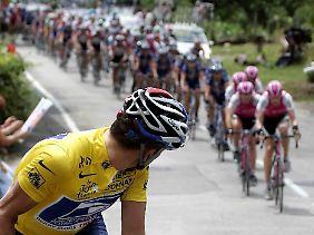Früher ließ Lance Armstrong alle hinter sich.