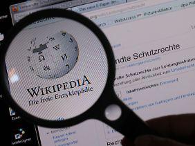 Bei Wikipedia wird genauer hingeschaut. Nicht alles darf mehr eingebracht werden.