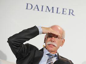 Kann keine Kritik erkennen - Dieter Zetsche.
