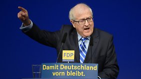 Brüderle könnte nach der Niedersachsen-Wahl der Verwalter der Partei werden.