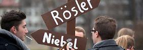 Vor dem FDP-Parteitag: Niebel hält sich für unverzichtbar