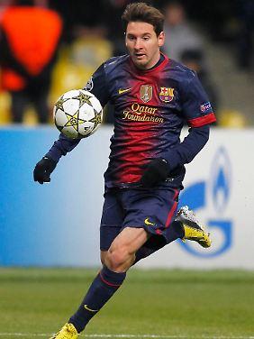 2012 knackte Messi weitere Bestmarken, darunter den ewigen Torrekord von Gerd Müller.