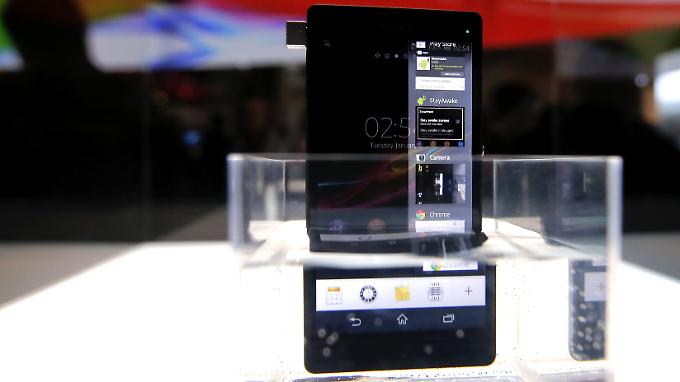 Das Xperia Z ist das neue Flagschiff unter den Sony-Handys.