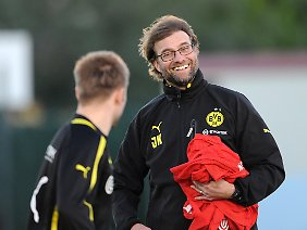 Die Vereinstreue vieler BVB-Stars erleichtert Coach Jürgen Klopp die Arbeit.