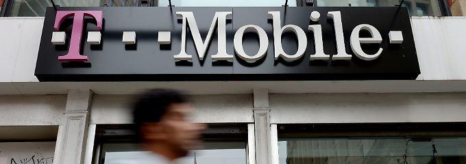 T-Mobile USA hat mit einem Kundenschwund im Segment der Vertragskunden zu kämpfen.