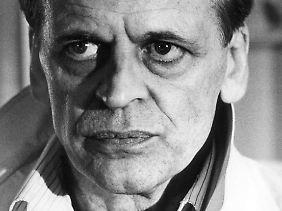 Klaus Kinski, unberechenbar. Nur wenige wollten oder konnten mit ihm arbeiten.