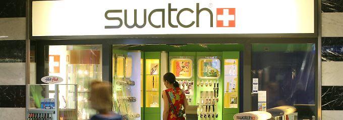 Die Stärke des Franken bremst den Export - für Swatch reicht es dennoch zum Rekord.