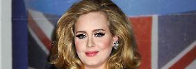 Erster Auftritt nach Entbindung: Adele präsentiert Globe-Show