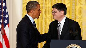 Jack Lew soll's richten: Obama ernennt neuen Finanzminister