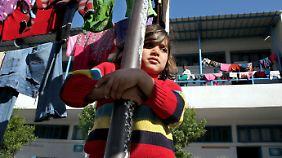 Um die palästinensischen Flüchtlinge kümmert sich die UNWRA.