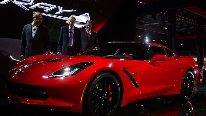 Mit Stolz präsentiert Chevrolet in Detroit die Neuauflage einer Legende.