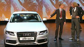 Autos sind beliebte Gewinnspielpreise in Fernseh-Shows.