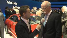 """Zetsche im n-tv Interview: """"Wir setzen auf Wachstum 2013"""""""
