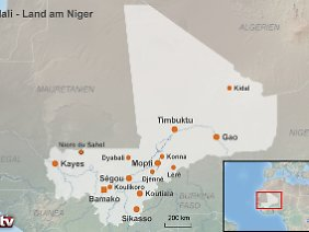 Mali - Land am Niger