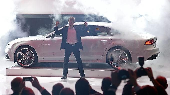 Wenn der neue RS7 vorfährt, brennt die Luft. Jedenfalls in Detroit, wo sich das neue Kraftpaket erstmals präsentiert.