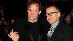 Ungewöhnliches Dream-Team: Tarantino und Waltz.