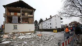 Alle fünf Bewohner blieben unverletzt.