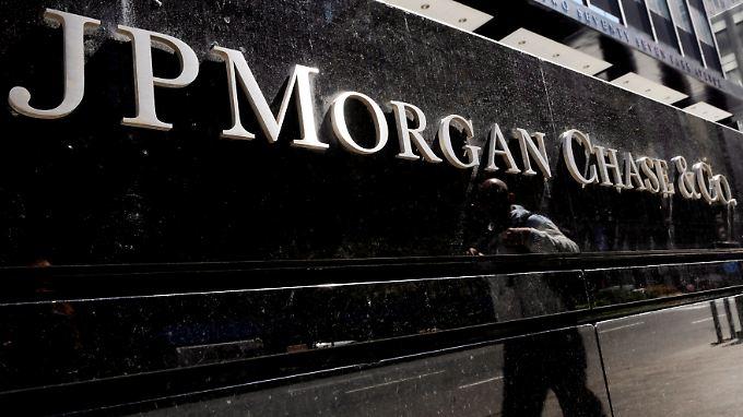 Weniger Rückstellungen, höherer Gewinn: JP Morgan
