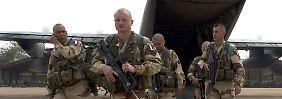 Franzosen rücken nach Norden vor: In Mali rollen die Panzer