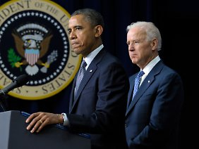 Joe Biden hatte die Pläne ausgearbeitet, die Barack Obama nun vorstellte.