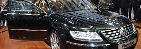 Wolfsburg hört auf China: VW legt Phaeton neu auf