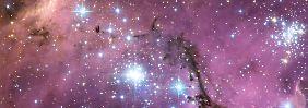 """Blick in die Nachbargalaxie: """"Hubble"""" macht spektakuläres Bild"""