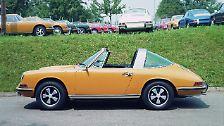 """So wie der Targa mit feststehendem Überrollbügel 1965 für Schlagzeilen als weltweit erstes """"Sicherheits-Cabriolet"""" gesorgt hatte, ..."""